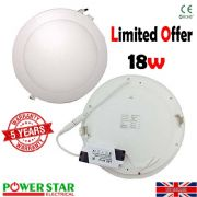 LED Round Recessed Ceiling light ultra slim